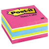 Post-it Notes Cube, 3 x 3, Ultra, 390 Sheets