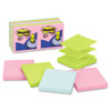 Post-it Pop-up Notes Pop-Up Note Refills, 3 x 3, Pastel, 12 100-Sheet Pads/Pack