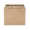 Caremail Rigid Photo Mailer, #5, Brown Kraft, 12/Pack