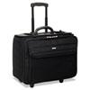 Rolling Laptop/Catalog Case, Ballistic Poly, 18-3/4 x 9 x 15-1/2, Black