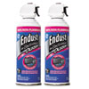 Endust Compressed Gas Duster, 2 10oz Cans/Pack
