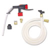 3M Portable Dispensing System P10, 6 ft. Hose, Clear/Black/Red