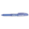 Pilot FriXion Point Erasable Gel Ink Stick Pen, Blue Ink, .5mm, Dozen