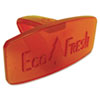 Eco Fresh Bowl Clip, Mango Scent, Orange, 12 per Box