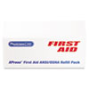 PhysiciansCare XPRESS First Aid Kit Refill Pack, ANSI Compliant