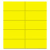 MasterVision Dry Erase Magnetic Tape Strips, Yellow, 2