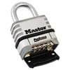 ProSeries Stainless Steel Easy-to-Set Combination Lock, Stainless Steel, 5/16