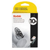 Kodak 1163641 (#10B) Ink, 425 Page-Yield, Black