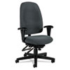 Global Granada Series High-Back Multi-Tilter Chair, Polypropylene Fabric, Gray
