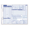 Auto Repair Four-Part Order Form, 8 1/2 x 11, Four-Part Carbonless, 50 Forms