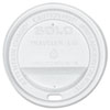 SOLO Cup Company Traveler Drink-Thru Lid, White, 300/Carton