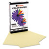 Universal Colored Paper, 20lb, 8-1/2 x 14, Canary, 500 Sheets/Ream