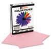 Colored Paper, 20lb, 8-1/2 x 11, Pink, 500 Sheets/Ream