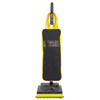 Ultra-Light Upright Vacuum, 13 lbs, Black/Yellow