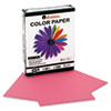 Colored Paper, 20lb, 8-1/2 x 11, Cherry, 500 Sheets/Ream