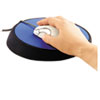 Allsop Wrist Aid Ergonomic Circular Mouse Pad, 9