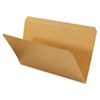 Kraft File Folders, Straight Cut, Top Tab, Legal, Kraft, 100/Box