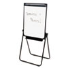 AbilityOne 7520014244867 Easel, 26 x 35 Dry Erase Board, Adjustable, Rounded Corners, Black