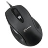 Innovera 6 Button Ergonomic Laser Mouse w/USB Connectivity, Black