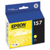 Epson T157420 UltraChrome K3 Ink, Yellow