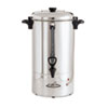 Coffee Pro 80-Cup Percolating Urn, Stainless Steel
