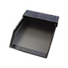 Aurora Products ProFormance Crocodile Memo Tray for 4 x 6 Notes, Black