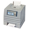 4000 Totalizing Digital Automatic Payroll Time Recorder, Gray