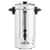 Coffee Pro 36 Cup Percolating Urn, Stainless Steel