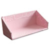 Aurora ProFormance Business Card Holder, Pink, 1 5/8 x 1 3/4 x 4 1/8