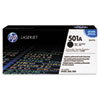 HP 501A, (Q6470AG) Black Original LaserJet Toner Cartridge for US Government