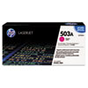HP 503A, (Q7583AG) Magenta Original LaserJet Toner Cartridge for US Government