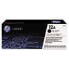 Q2612AG (HP 12A) Government Smart Toner Cartridge, 2,000 Page-Yield, Black