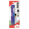 Twist-Erase CLICK Mechanical Pencil, 0.5 mm, Assorted Barrels, 2/Pk