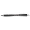 Paper Mate InkJoy 700RT Ballpoint Pen, 1.0 mm, Black Ink, Black Barrel, Dozen