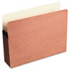 Redrope File Pocket with Manila Lining, 5 1/4 Inch Expansion, Letter, 10/Box