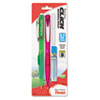 Twist-Erase CLICK Mechanical Pencil, 0.7 mm, Assorted Barrels, 2/Pk