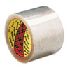 "Box Sealing Tape, 2.83"" x 109 yards, 3"" Core, Clear, 24/Carton"