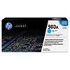 HP 503A, (Q7581AG) Cyan Original LaserJet Toner Cartridge for US Government