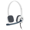 H150 Stereo Headset, White/Black