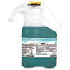 Crew Restroom Floor & Surface Non-Acid Disinfectant Cleaner, Two 1.4L Bottles