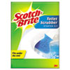 Disposable Toilet Scrubbers, 1 Stick/4 Scrubbers/Kit
