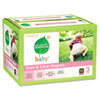 Free &amp; Clear Diapers, Stage 3, 16-28 lbs., White, 76 per Box