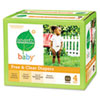 Free &amp; Clear Diapers, Stage 4, 22-37 lbs., White, 64 per Box