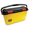 Rubbermaid Commercial HYGEN HYGEN Charging Bucket, Yellow