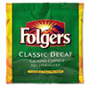 Folgers Coffee Filter Packs, Decaffeinated, In-Room Lodging, .9 oz, 200/Carton