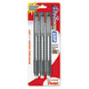 Pentel Clic Eraser Pencil-Style Grip Eraser, Assorted, 3/Pack