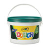 Crayola Modeling Dough Bucket, 3 lbs., Green