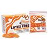 Latex Free Rubber Bands, Size 54 (Orange), Sizes 19/33/64 (Mix), 1lb Box