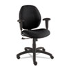 Global Graham Series Pneumatic Ergo-Tilter Swivel/Tilt Chair, Black Fabric