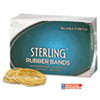 Alliance Sterling Ergonomically Correct Rubber Band, #12, 1-3/4 x 1/16, 3400/1lb Box